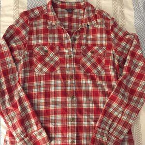Eddie Bauer Red Flannel